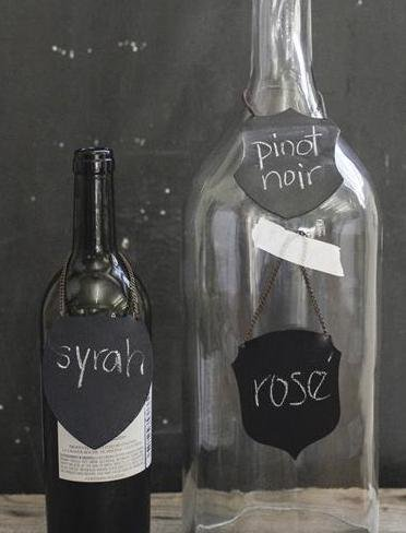 Three Crest Shaped Chalkboard Styles