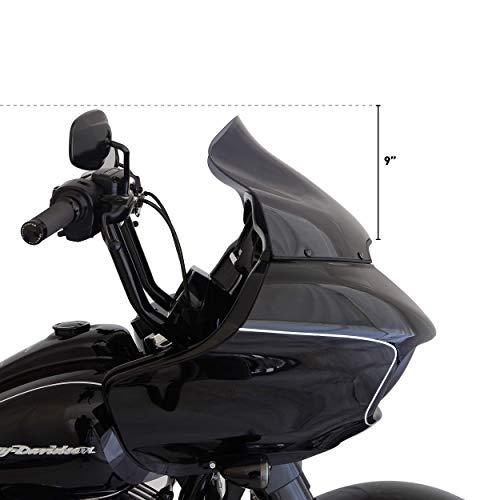Klock Werks patented FLARE windshield for 2015 to 2019 Harley Davidson Road GLide by KLOCK Werks (Image #2)