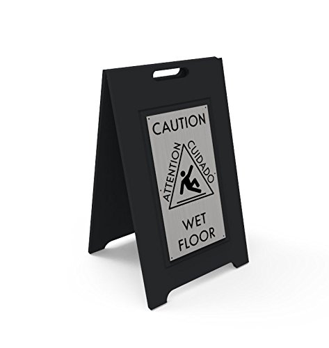 Wet Floor Sign - Durable HDPE Material With An Upscale Look …