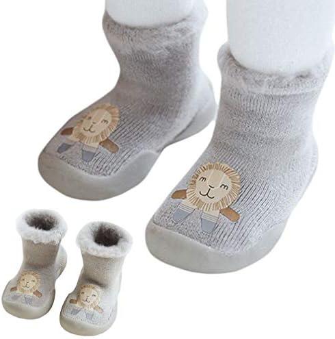 ソックス 靴下 靴 赤ちゃん ベビー 子供 女の子 男の子 キッズ ガールズ ボーイズ 秋冬 厚手 オシャレ 防寒 暖かい 滑り止め 猫 プレゼント くま ペンギン 柔らかい かわいい