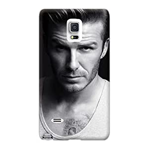 Bumper Hard Cell-phone Cases For Samsung Galaxy Note 4 With Custom High Resolution David Beckham Top Skin TrevorBahri