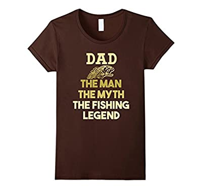 Dad Fishing Legend Shirt Funny Fathers Day Gift Fisherman
