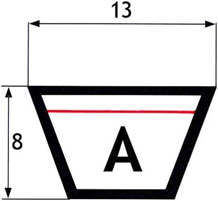 13x8x1525 Une courroie trap/ézo/ïdale 60 mm