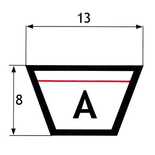 13x8x735 mm Cinghia trapezoidale A29
