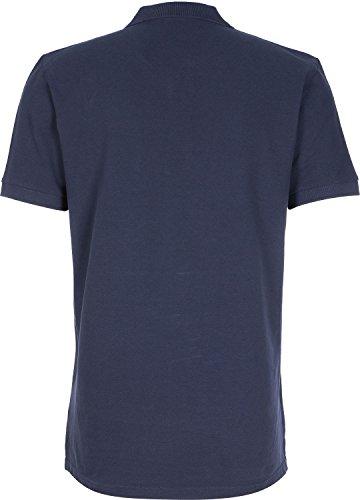 CARHARTT WIP - Poloshirts - kurzärmlig - Herren - Blaues Slim-Poloshirt mit weißem Logo für herren - M