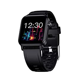Smart Watch, Taotique Touch Screen Fitness Trackers with Blood Oxygen, HR Monitor, Sleep Tracker, Step and Calorie…
