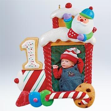 Hallmark Keepsake Ornament 2011 My First Christmas - Photo Holder - #QXG4409 Babys First Christmas Photo Holder