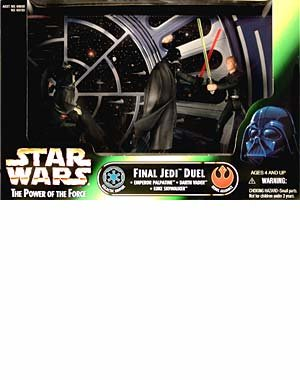 (Star Wars Final Jedi Duel Cinema Scene - Star Wars Action Figure 3-Pack)