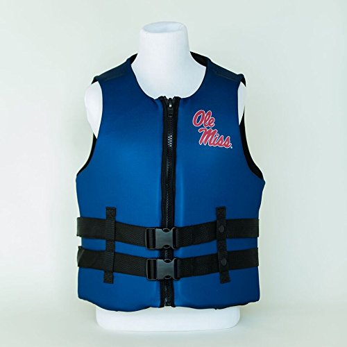 University of Mississippi Ole Miss U S Coast Guard Approved Life Vest (XXXL)