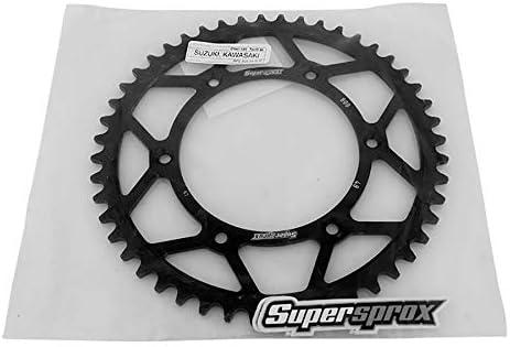 SuperSprox RFE-808-48-BLK Rear Steel Sprocket