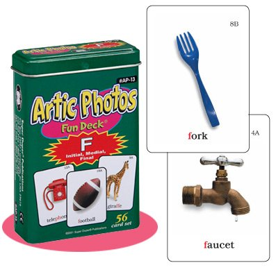 Artic Photos F Fun Deck Flash Cards Super Duper Educational Learning Toy for Kids