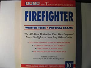 Firefighter (Arco Civil Service Test    book by Robert Andriuolo