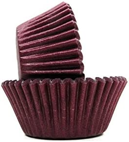 Burgundy Cupcake Papers Standard Muffin Liners 32 count by Cupcake Creations