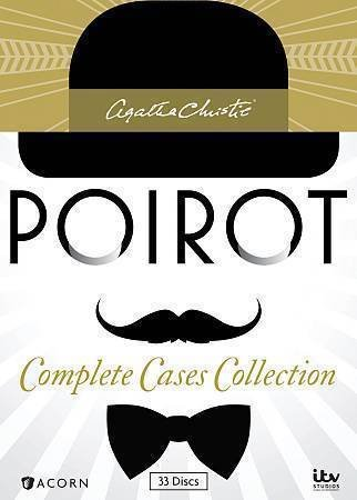 Agatha Christies Poirot: Complete Cases Collection (DVD, 2014, 33-Disc Set)
