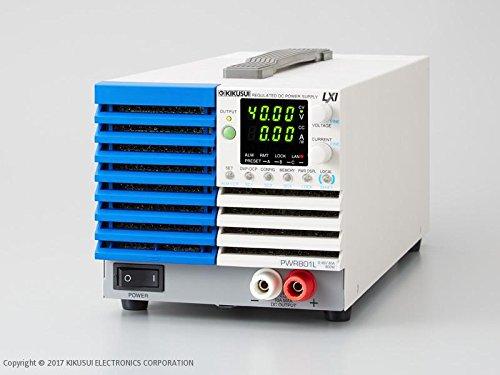 Kikusui PWR801ML Adjustable Switching Multi-Range DC Power Supply 0-80V, 0-40A, 800W