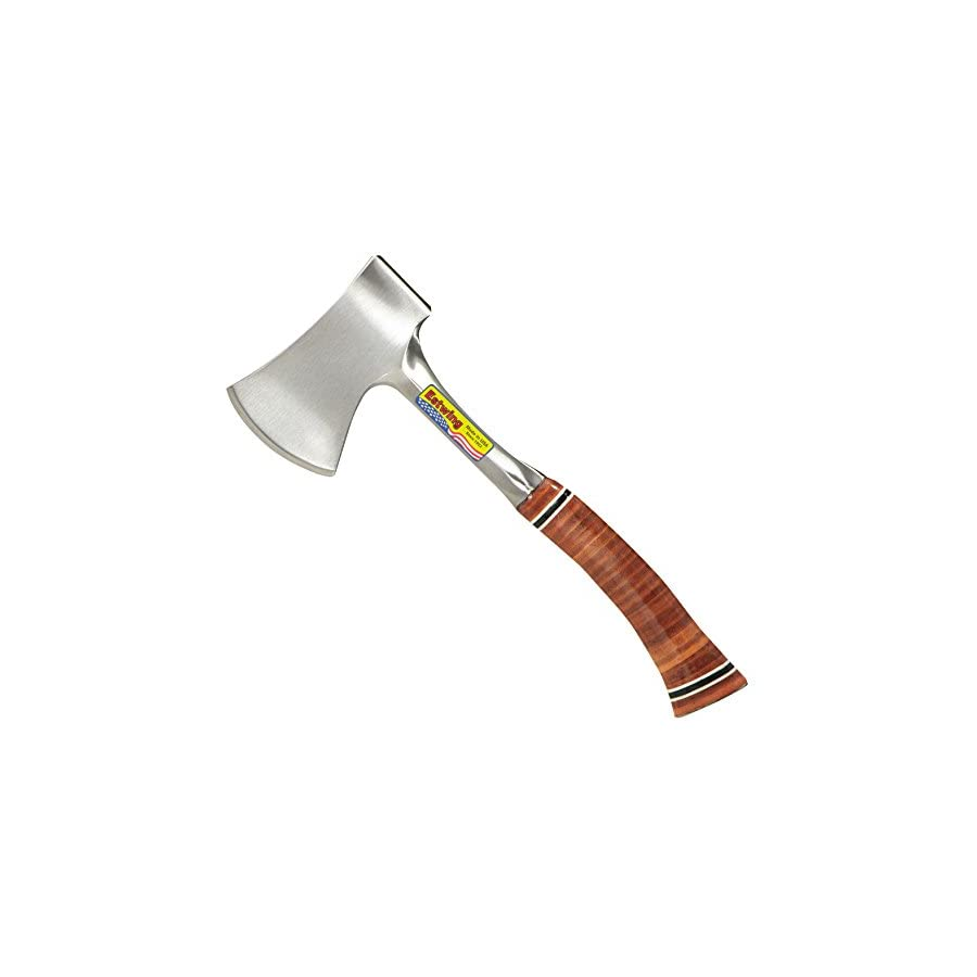 Estwing E24A 14 Inch Sportsman's Axe with Leather Grip & Nylon Sheath