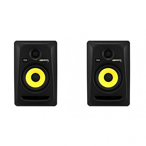 KRK RP5 G3 Black| Active Studio Monitor Speakers Pair