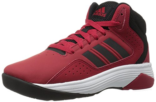 adidas cloudfoam black and red