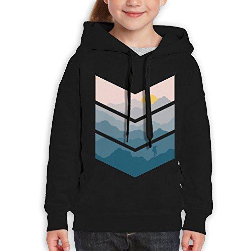 FDFAF Teenager Youth Mountain Traveler Cool Hoodie Hooded Sweatshirt L - Drake Sunglasses Pink
