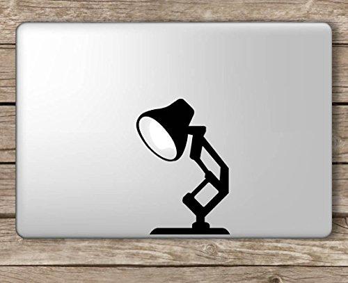- Pixar Lamp Disney - Apple MacBook Laptop Vinyl Sticker Decal, Die Cut Vinyl Decal for Windows, Cars, Trucks, Tool Boxes, laptops, MacBook - virtually Any Hard, Smooth Surface