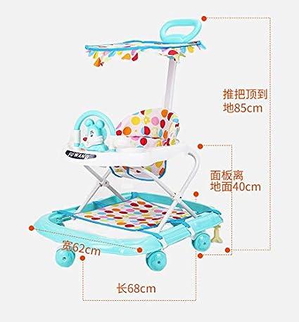 High Quality Andador de bebé Empuje antivuelco Andador Infantil ...