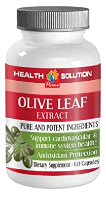 Brain pills focus - OLIVE LEAF EXTRACT 500Mg - Olive leaf extract pills - 1 Bottle 60 Capsules
