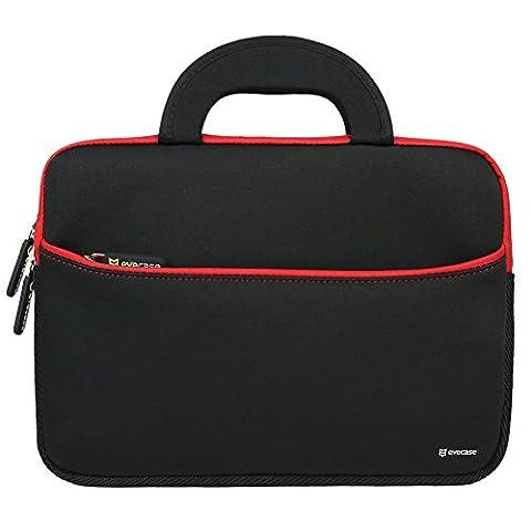 Evecase 10.6~12 inch Tablet, Netbooks Ultraportable Neoprene Zipper Carrying Case