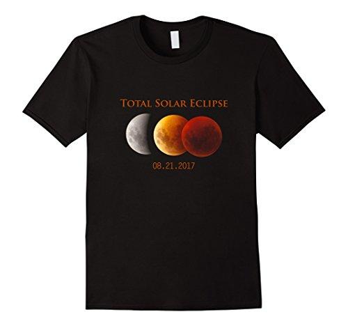 Price comparison product image Mens Men Fan Total Solar Eclipse August 21st 2017 T-shirts Medium Black