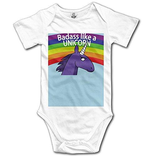Animal Ark Baby Quilt - BjlkMLMLM Badass Like A Unicorn Baby Outfit Creeper Short Sleeves Onesies