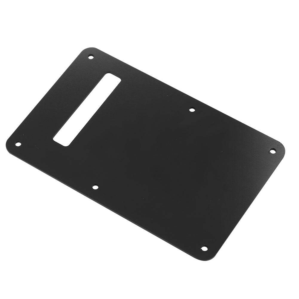 ST Style Guitar Pickguard Tremolo Cavity Cover Back Plate Music Instrumental Accessory Guitar Back Plate Black