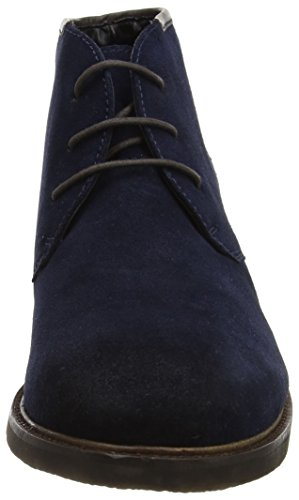 Derby Lace Azul Madden Cordones Zapatos Up para Scooter Hombre Steve Navy de 1Zqw0qE