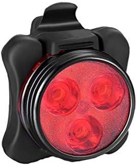 Usb Oplaadbare Fiets Heldere Licht Waterdichte Achterlicht Fiets Achter Terug Veiligheid Licht Mountainbike Universele Fit met Clip Mount Strap Rood 1 st