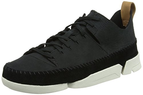 Clarks Originals Trigenic Flex, Baskets Basses Femme Noir (Black Nubuck)