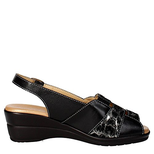 Cinzia Soft IO415-CS 002 Sandal Damen Schwarz