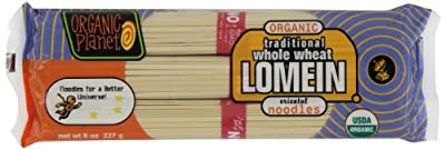 Organic Planet Organic Traditional Lomein Noodles, 8-Ounce (Pack of 12) from Organic Planet