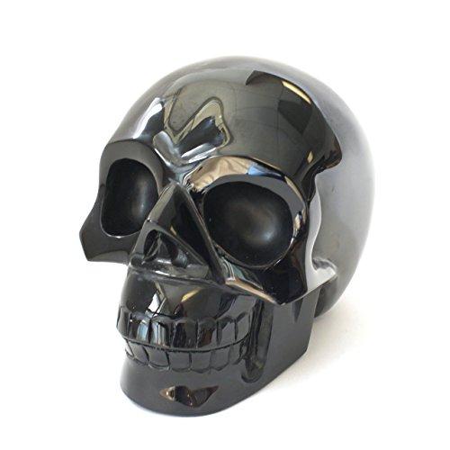 Natural Obsidian Skull (4