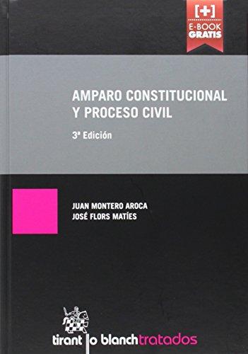 Descargar Libro Amparo Constitucional Y Proceso Civil 3ª Edición 2014 Juan Montero Aroca