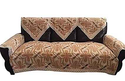 Amazon Com Octorose Chenille Lace Sectional Sofa Throw Covers
