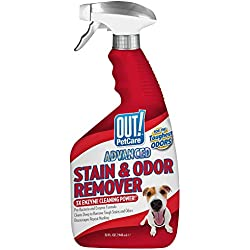 OUT! Advanced Stain and Odor Remover   Pet Stain and Odor Remover   32 Ounces