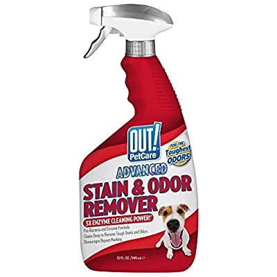 Cat Litter OUT! Advanced Stain and Odor Remover | Pet Stain and Odor Remover... [tag]