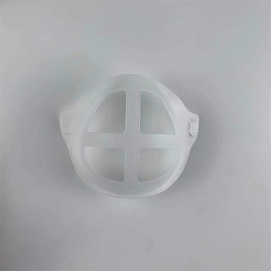 Nasenpolster f/ür Mund und Nase 3D-Silikon-Halterung f/ür Masken Innenkissen f/ür Masken 10 St/ück Silikon-Maskenhalterung St/ützrahmen