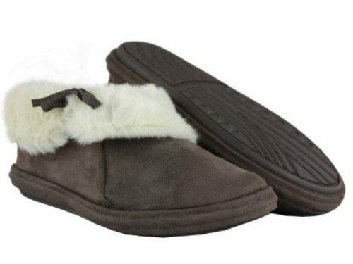 Jyoti - Zapatillas de estar por casa para mujer marrón - marrón oscuro