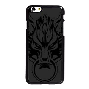 último caso 5,5 pufunda LGadas Fantasy VII U7S31R4XD funda iPhone 6 6S Plus funda 5628VG negro