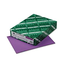Wausau Paper Products - Wausau Paper - Astrobrights Colored Paper, 24lb, 8-1/2 x 11, Planetary Purple, 500 Sheets/Ream - Sold As 1 Ream - The brightest and the best! - Attention-getting notices, flyers, announcements and bulletins. - Guaranteed performance in laser and inkjet printers. - Acid-free, lignin-free. - by Wausau