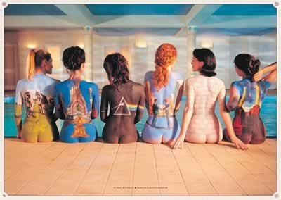 Pink Floyd - Giant Music Poster (The Back Catalog) (Size: 55'' x 39'')