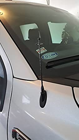 Made in USA AntennaMastsRus 4 Black Aluminum Antenna is Compatible with Mercury Mariner 2005-2011