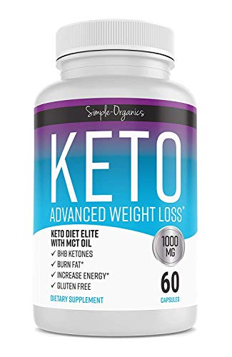 Keto Diet Pills 1000 Mg- Advanced Weight Loss Supplements- Burn Fat Instead of Carbs- 30 Day Supply (The Best Weight Loss Pills 2019)