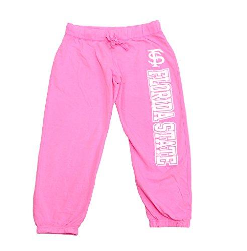 Price comparison product image Pressbox Women' s NCAA FS Florida State Seminoles Capris Sweatpants Pink