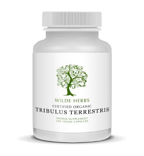 Органические Tribulus Terrestris 100 капсулы (Wilde Травы)