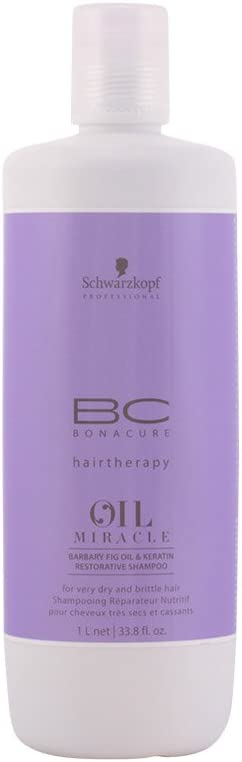 Schwarzkopf Professional BC Bonacure Oil Miracle Barbary Fig & Keratin Restorative Shampoo 1 Litre